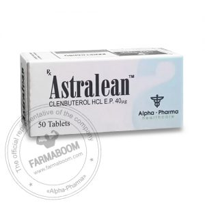 Astralean 40mcg - 50 tabs