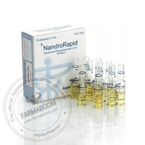 NandroRapid 100 - 10 Ampoules 1ml