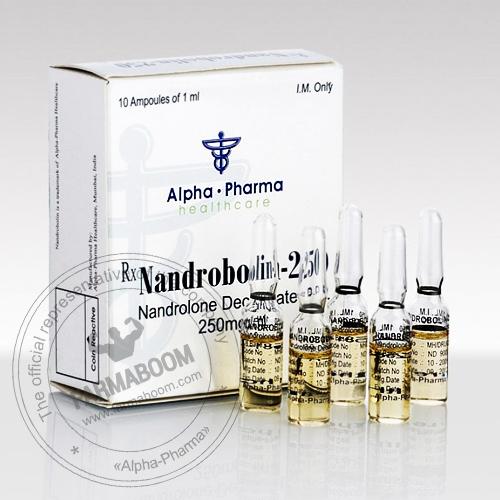 Nandrobolin 250 - 10 Ampoules 1ml