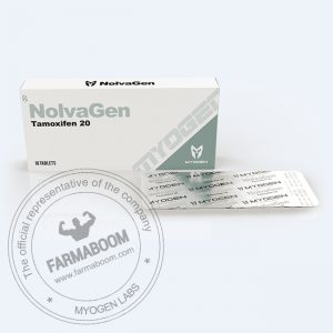 NolvaGen (Nolvadex 20mg/tab (Box 10 TABS)