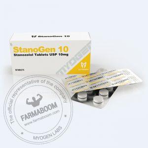 StanoGen 10 (Stanozolol 10mg/tab (Box 50 TABS)
