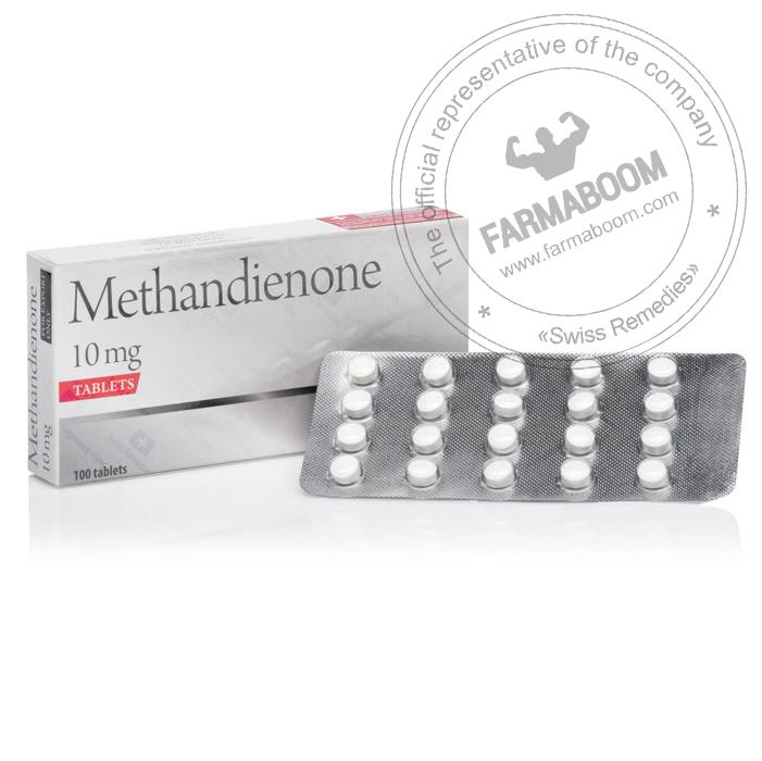 Methandienone - 10mg x 100tab