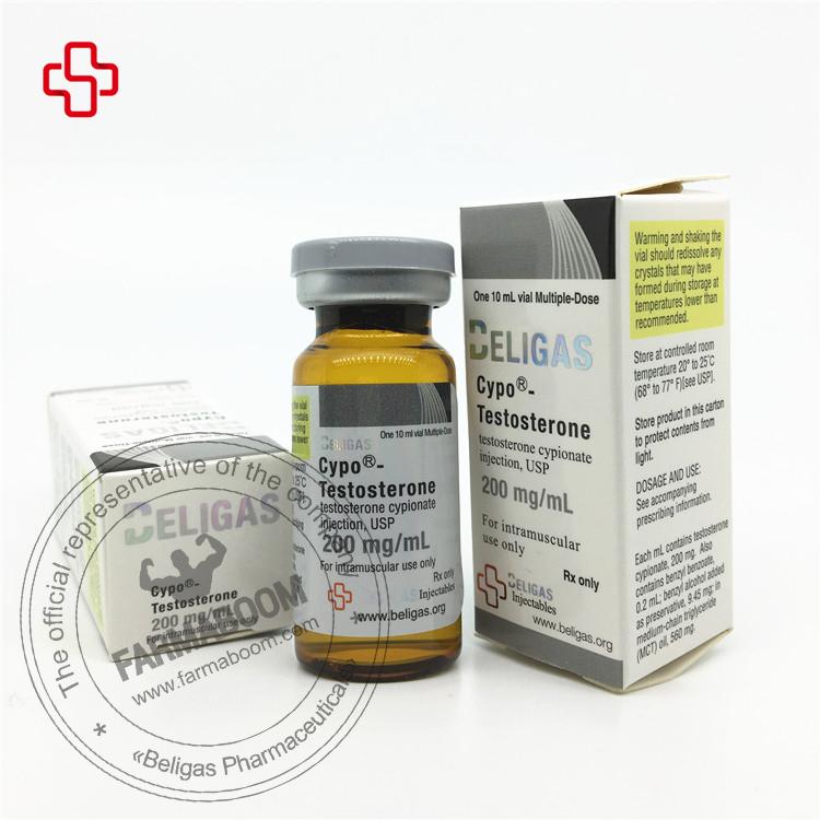 Buy Testosterone Cypionate 200mg - Beligas Pharmaceuticals - Farmaboom.com
