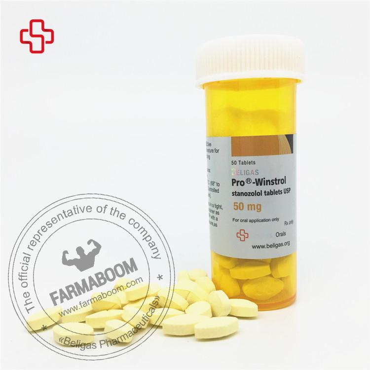 PRO Winstrol 50mg 50tabs - Beligas Pharmaceuticals-farmaboom