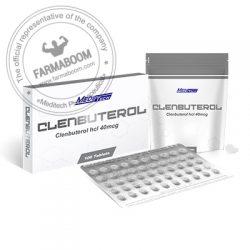 CLENBUTEROL Clenbuterol hcl 40mcg/tab 100tab - Meditech-farmaboom