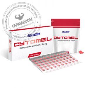CYTOMEL Liothyronine sodium 25mcg/tab 100tab - Meditech-farmaboom
