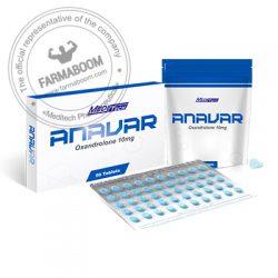 ANAVAR Oxandrolone 10mgtab 50tab - Meditech-farmaboom