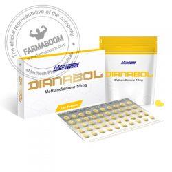 DIANABOL Methandienone 10mgtab 100tab - Meditech-farmaboom