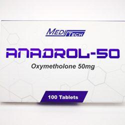 ANADROL-50 Oxymetholone 50mg/tab 100tab - Meditech-farmaboom