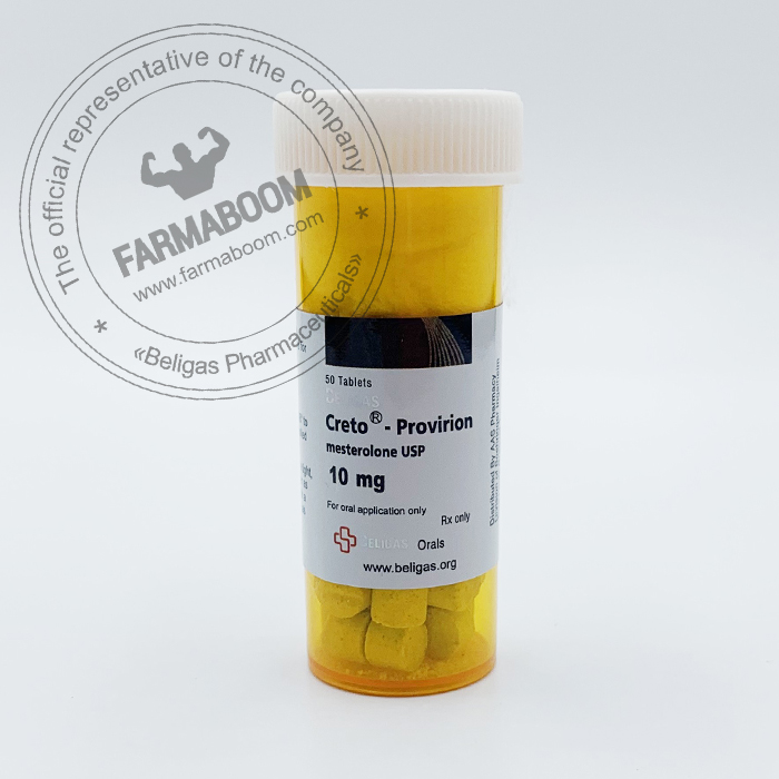 Mesterolone-Proviron 10mg-50T-Beligas Pharmaceuticals-farmaboom-com
